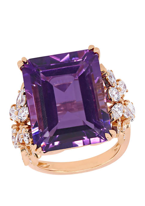 Belk & Co. 20 ct. t.w. Amethyst and
