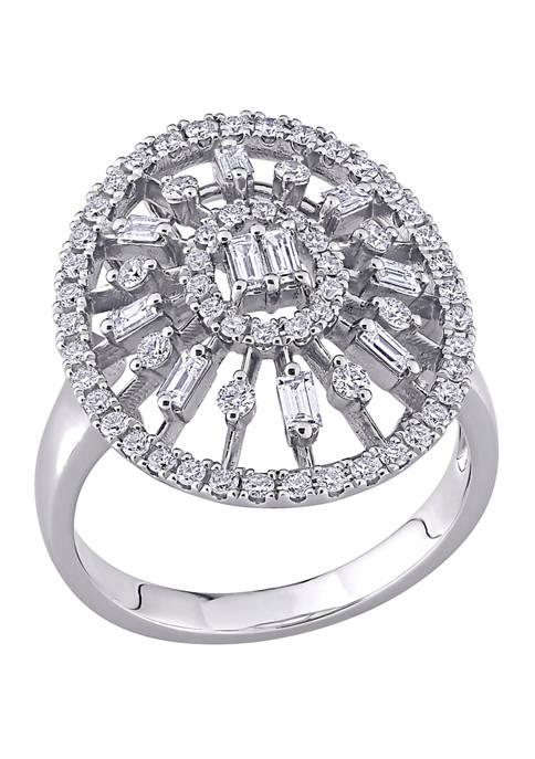 Belk & Co. 3/4 ct. t.w. Diamond Floral