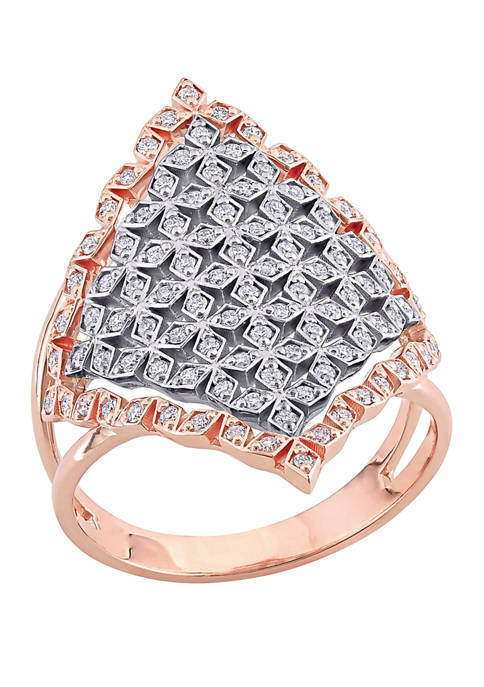 Belk & Co. 3/8 ct. t.w. Diamond Geometric