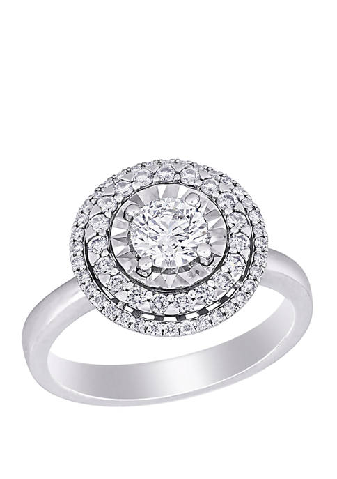 Belk & Co. 1 ct. t.w. Diamond Halo