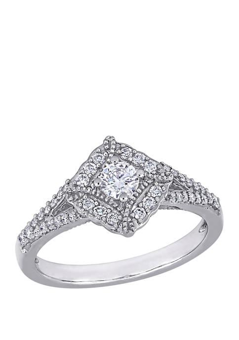 Belk & Co. 1/2 ct. t.w. Diamond Vintage