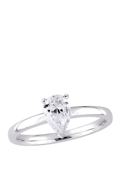 Belk & Co. 1 ct. t.w. Pear-Cut Diamond