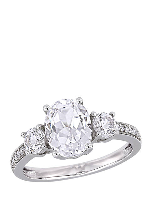 Belk & Co. 3.3 ct. t.w. Lab Created