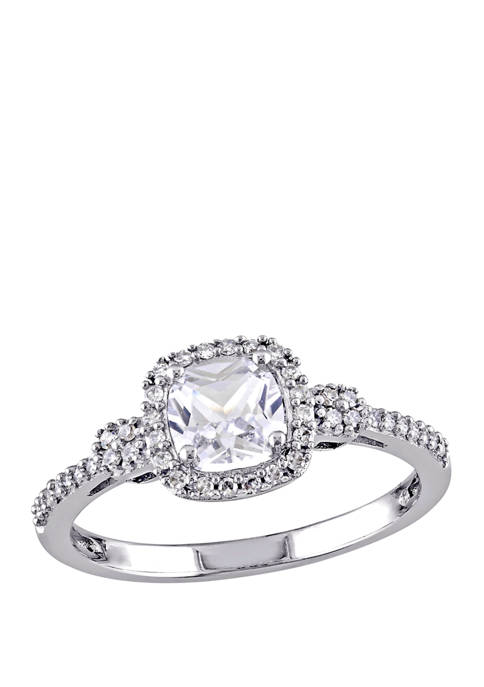 Belk & Co. 3/4 ct. t.w. Lab Created