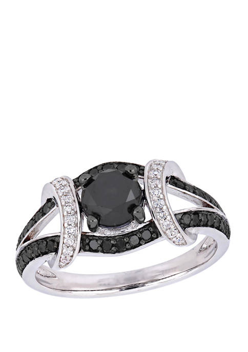 Belk & Co. 1.38 ct. t.w. Black and