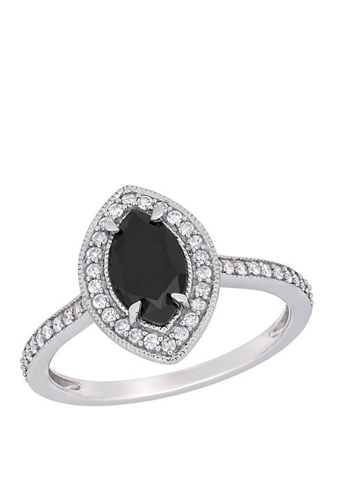 Belk & Co. 1.25 ct. t.w. Black and
