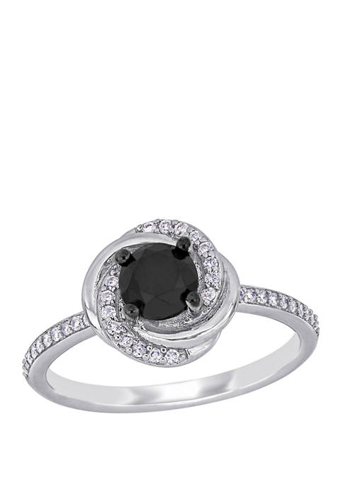 Belk & Co. 1.1 ct. t.w. Black and