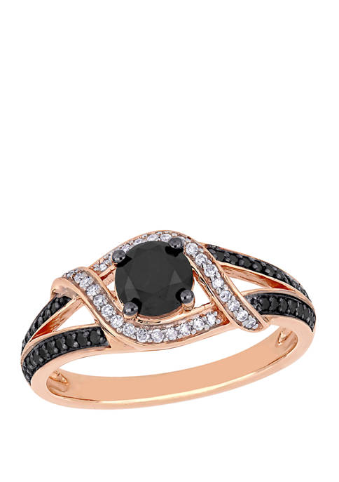 Belk & Co. 1 ct. t.w. Black and