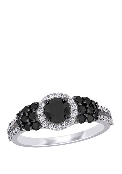 Belk & Co. 1.3 ct. t.w. Black and