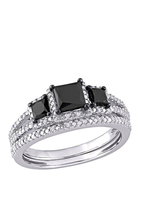 Belk & Co. 1.6 ct. t.w. Black and