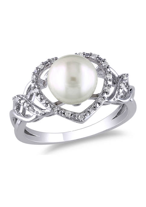 Belk & Co. 8-8.5 Millimeter Cultured Freshwater Pearl