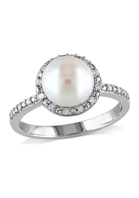 Belk & Co. 8 Millimeter Cultured Freshwater Pearl