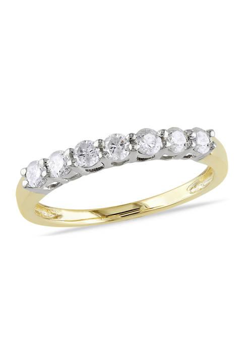Belk & Co. 1/2 ct. t.w. Diamond Anniversary