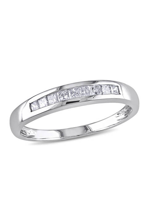 1/4 ct. t.w. Diamond Eternity Ring in 10K White Gold