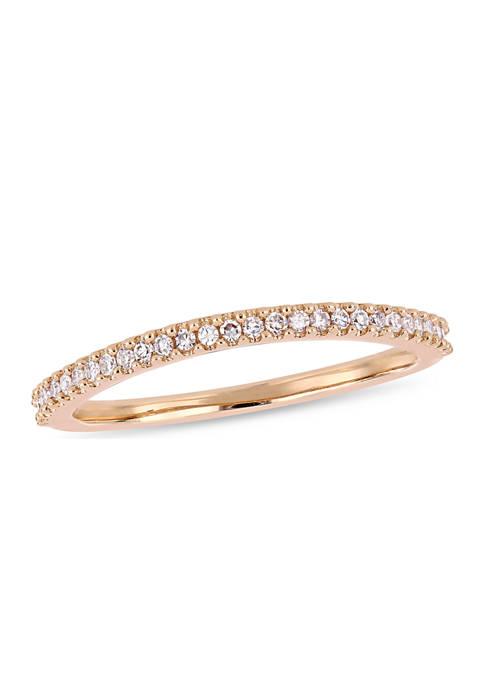 Belk & Co. 1/7 ct. t.w. Diamond Wedding
