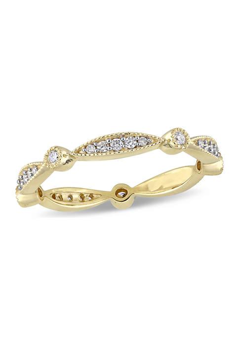 Belk & Co. 1/4 ct. t.w. Diamond Wedding