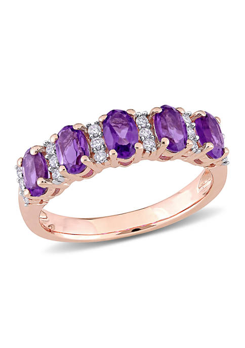 Belk & Co. 1.16 ct. t.w. Amethyst and