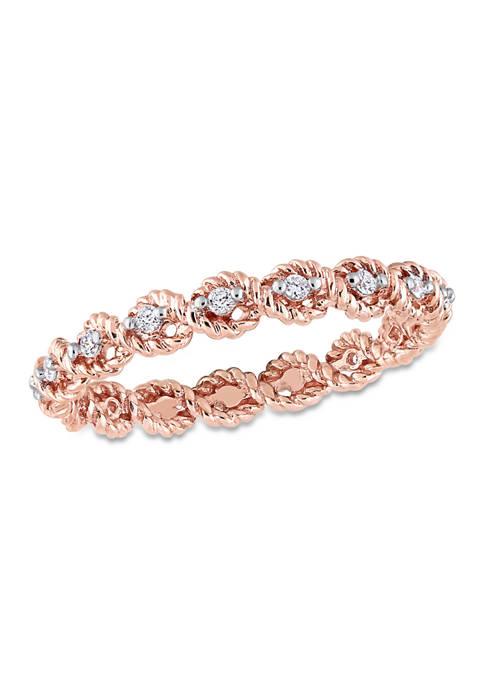 Belk & Co. 1/6 ct. t.w. Diamond Infinity