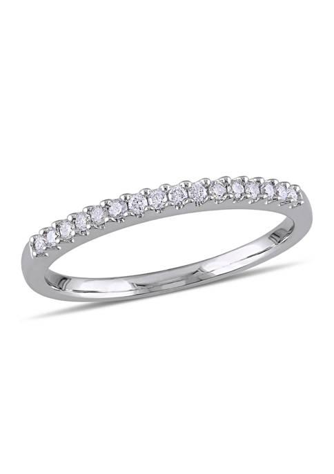 Belk & Co. 1/7 ct. t.w. Diamond Semi