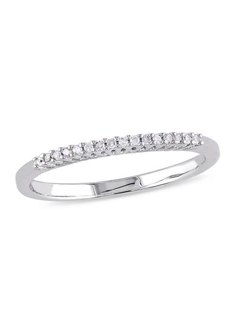 Belk & Co. 1/10 ct. t.w. Diamond Wedding