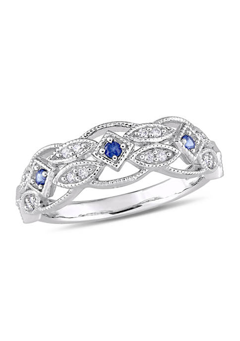 Belk & Co. 1/3 ct. t.w. Sapphire and