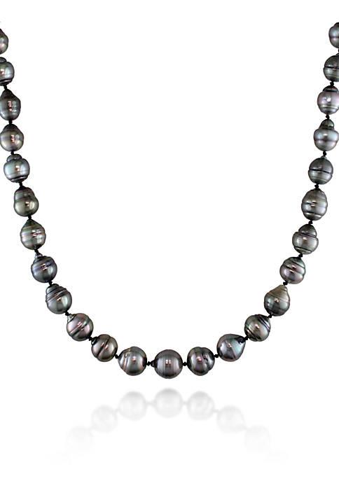 Belk & Co. 14k White Gold Tahitian Pearl