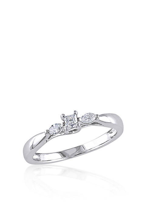 Belk & Co. 1/4 ct. t.w. Diamond Engagement