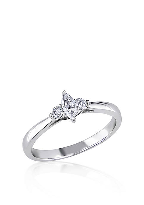 Belk & Co. 1/4 ct. t.w. Diamond Engagement