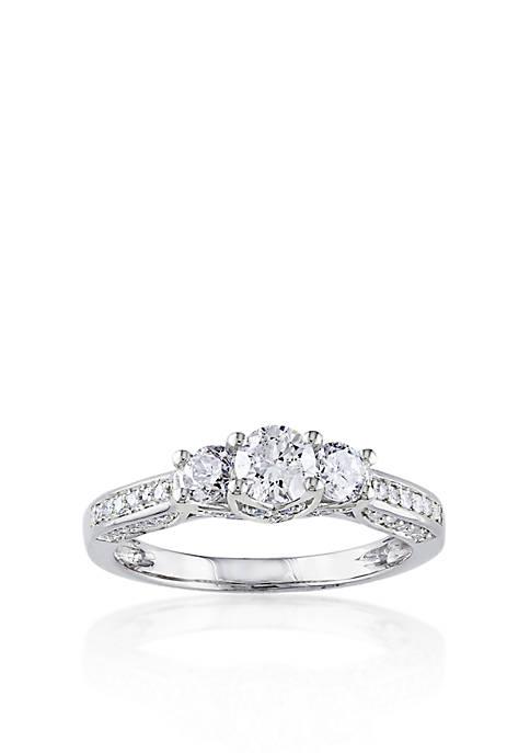 Belk & Co. 1 ct. t.w. Diamond Three
