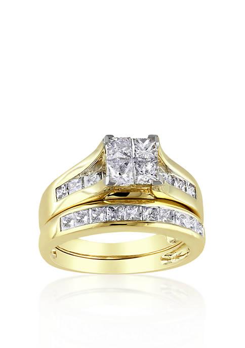 Belk & Co. 2 ct. t.w. Diamond Bridal