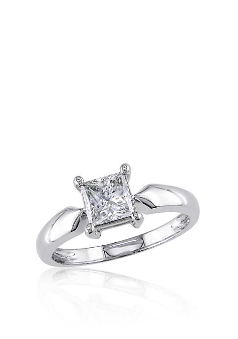 Belk & Co. 1 Carat Princess Cut Diamond