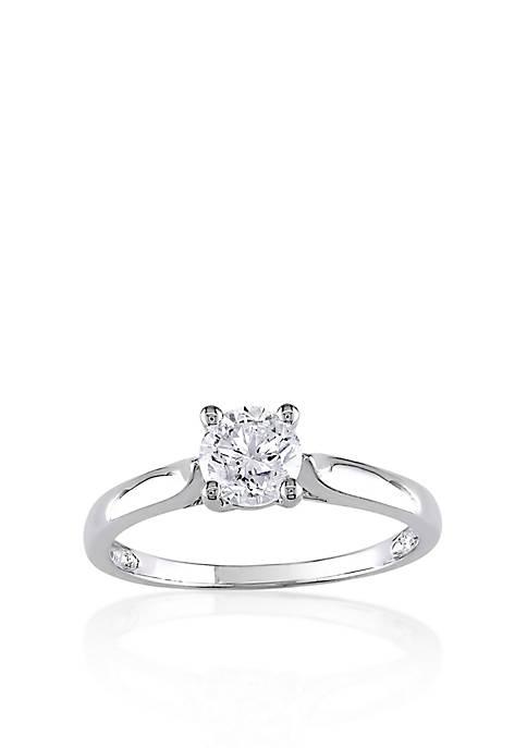 Belk & Co. Diamond Solitaire Ring in 14k
