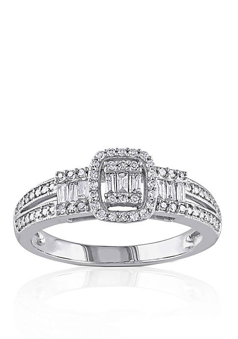 Belk & Co. 1/3 ct. t.w. Diamond Engagement