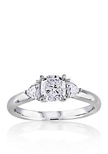 1 ct. t.w. Diamond Engagement Ring in 14k White Gold
