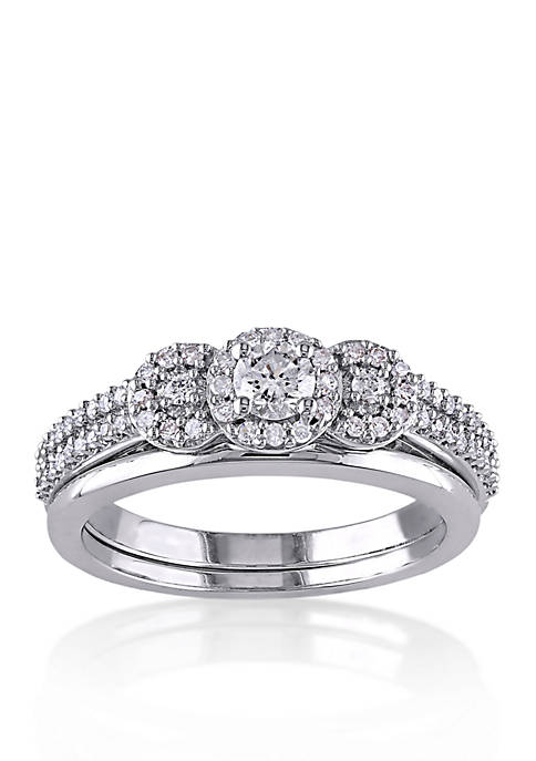 Belk & Co. 1/2 ct. t.w. Diamond Bridal
