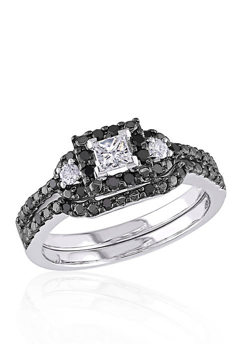 Belk & Co. 1/2 ct. t.w. Black and