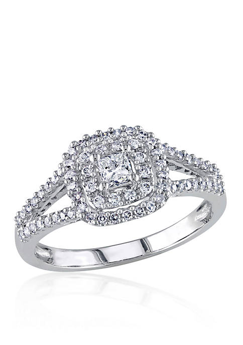 Belk & Co. 1/2 ct. t.w. Diamond Engagement