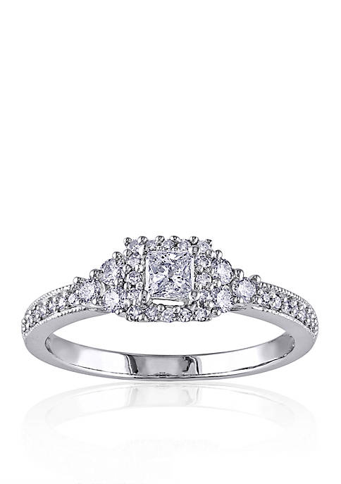Belk & Co. 1/2 ct. t.w. Diamond Engagement
