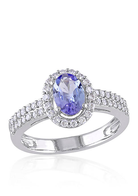 Belk & Co. Tanzanite and Diamond Ring in