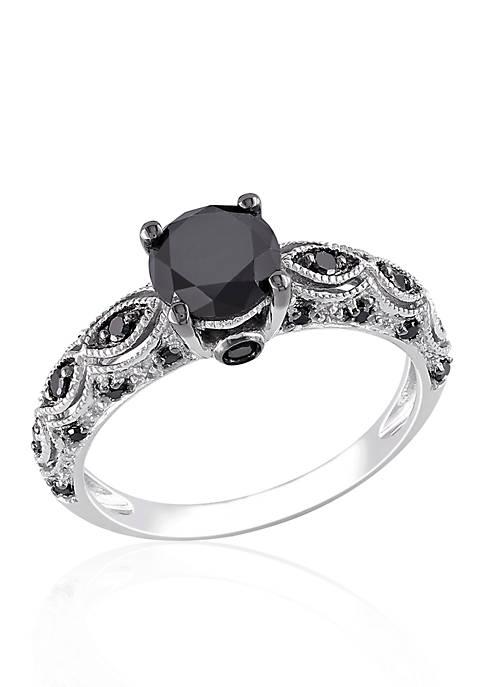 Belk & Co. 1.25 ct. t.w. Black Diamond