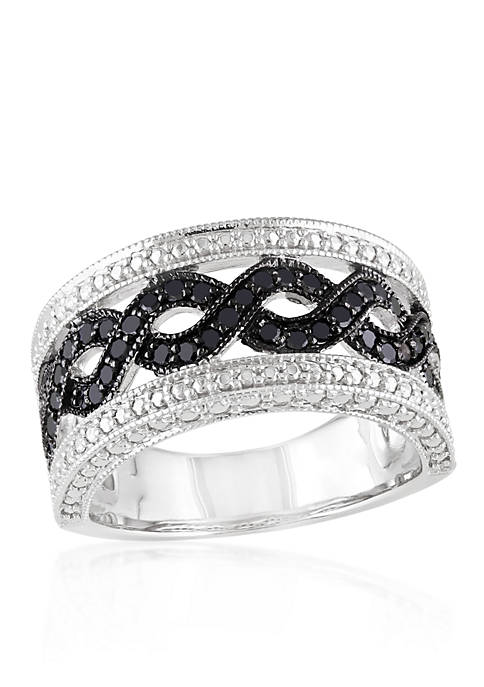 Belk & Co. Black Diamond Open Link Band