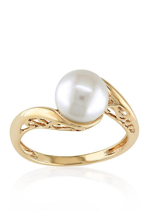 Belk & Co. Cultured Freshwater Pearl Ring in