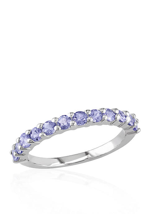 Belk & Co. Sterling Silver Tanzanite Band