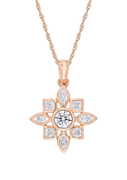 1/3 ct. t.w. Diamond Artisanal Necklace