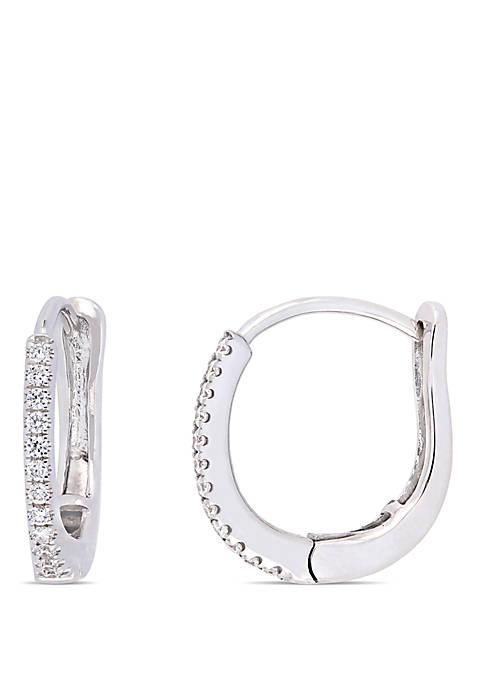 Belk & Co. 0.16 ct. t.w. Diamond Hoop