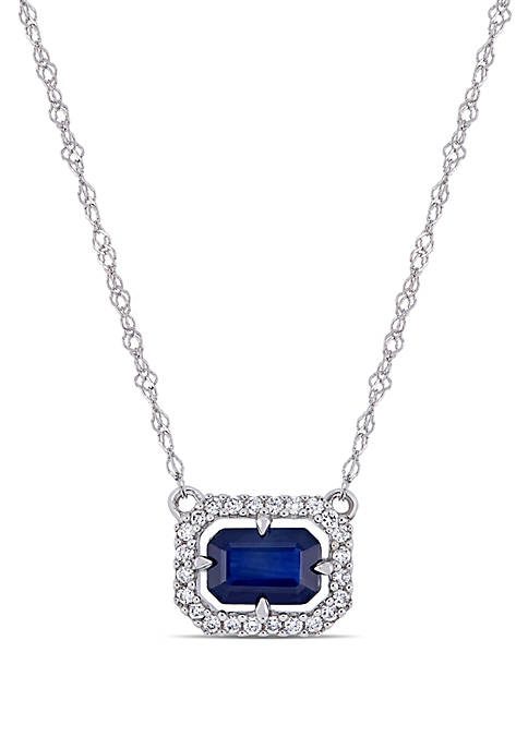 Belk & Co. 3/4 ct. t.w Sapphire and