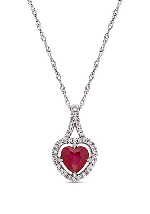 Belk & Co. 1.0 ct. t.w Ruby and