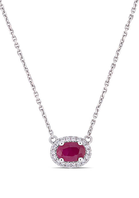 Belk & Co. 0.6 ct. t.w. Ruby and