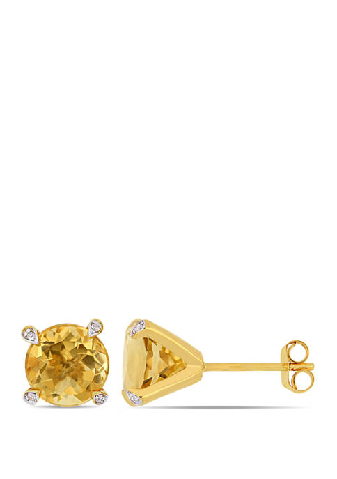 Belk & Co. 3.75 ct. t.w. Citrine and