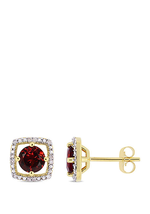 Belk & Co. 1.2 ct. t.w. Garnet and